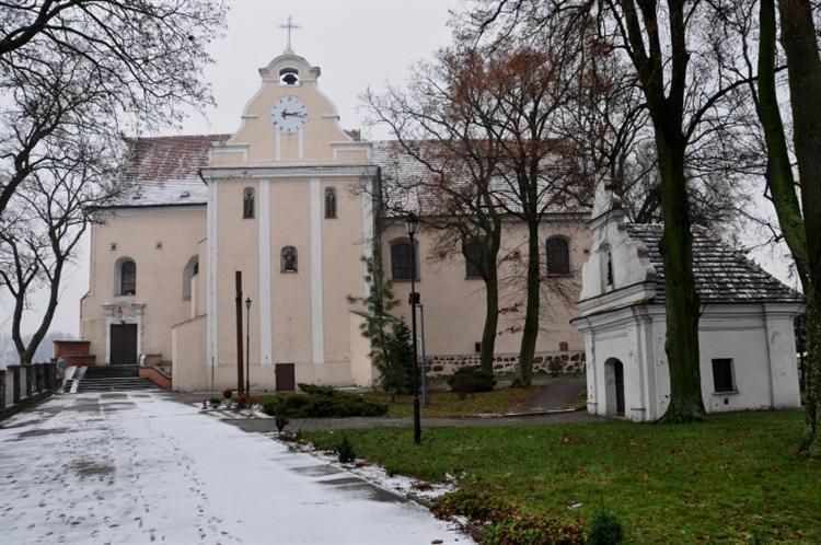 Pakość - Zespół klasztoru Franciszkanów (XVII w