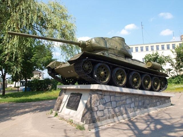 Pomnik Czołg w Skierniewicach