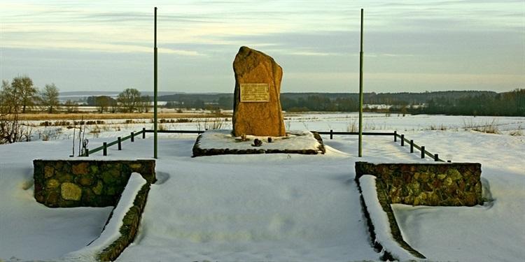 Pomnik Generała Armii Czerwonej Wiktora Żołudiewa w Trejglach