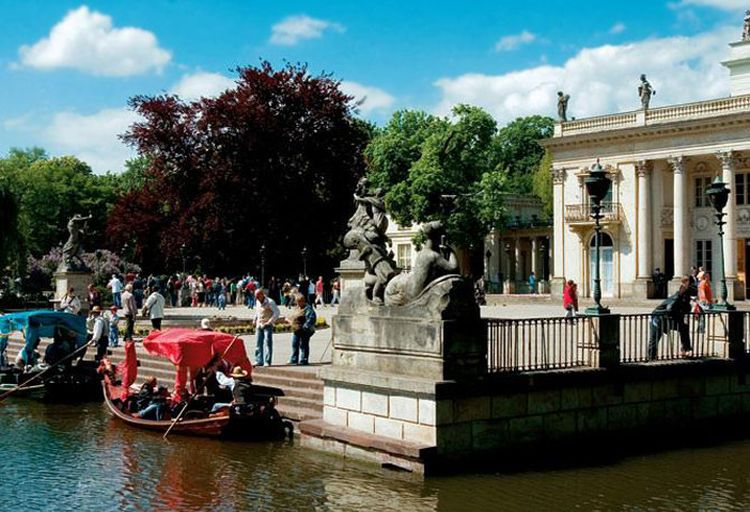 Warszawa Gondole Atrakcje Turystyczne Warszawy Ciekawe